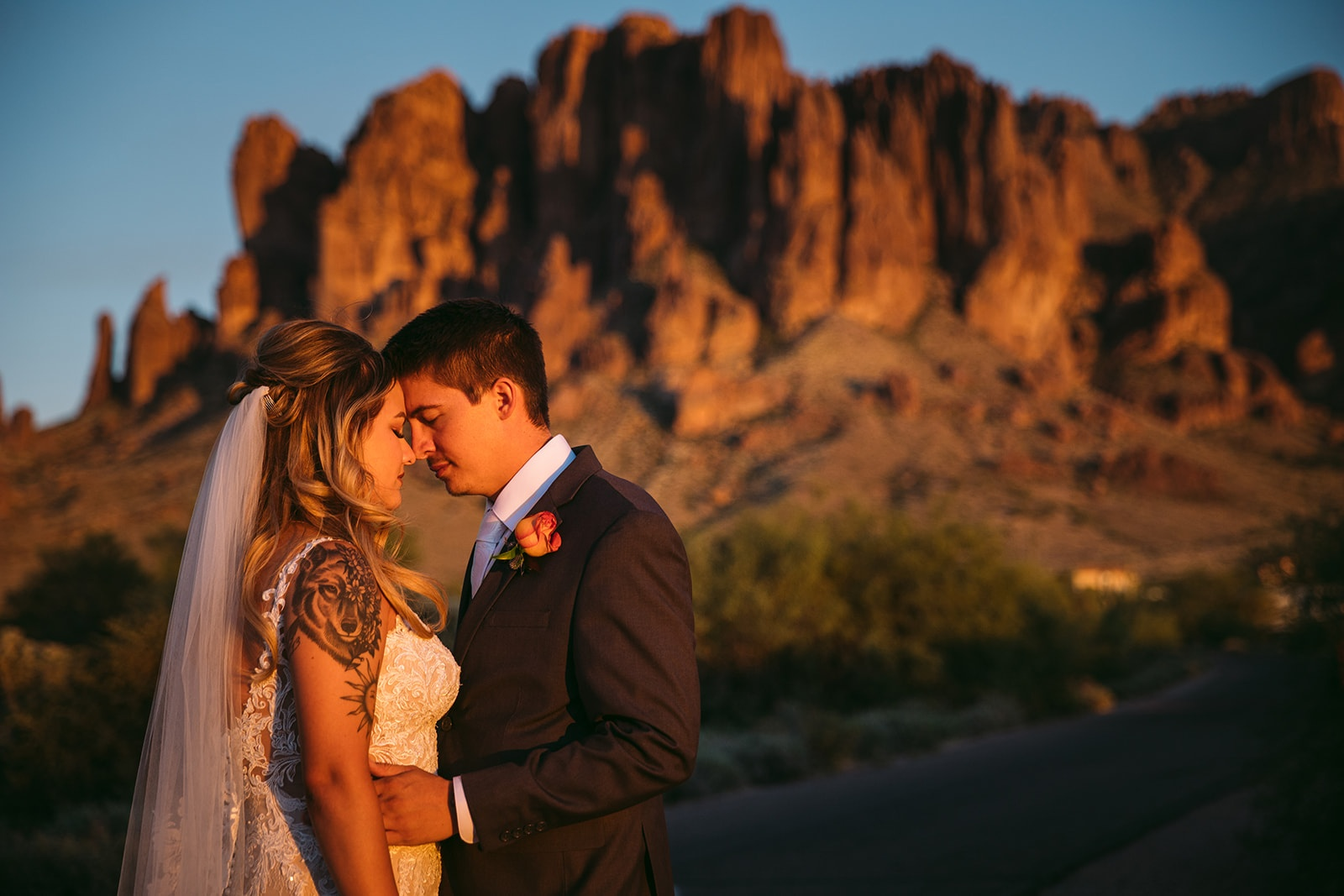 Lost Dutchman State Park Wedding Ceremony Site