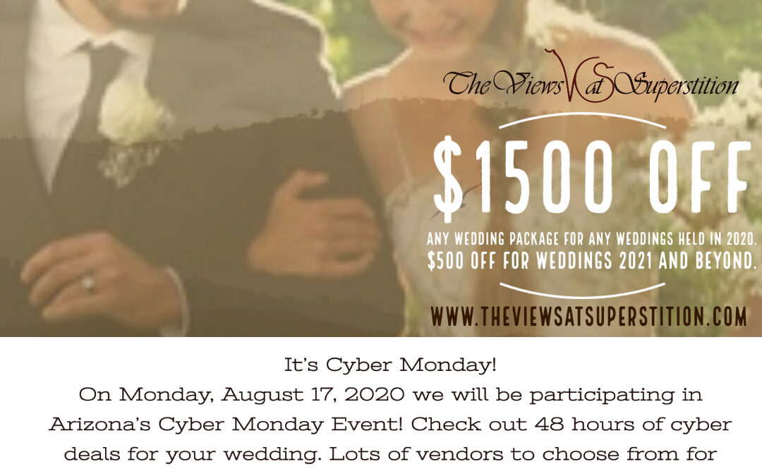 Cyber Monday Bridal Expo